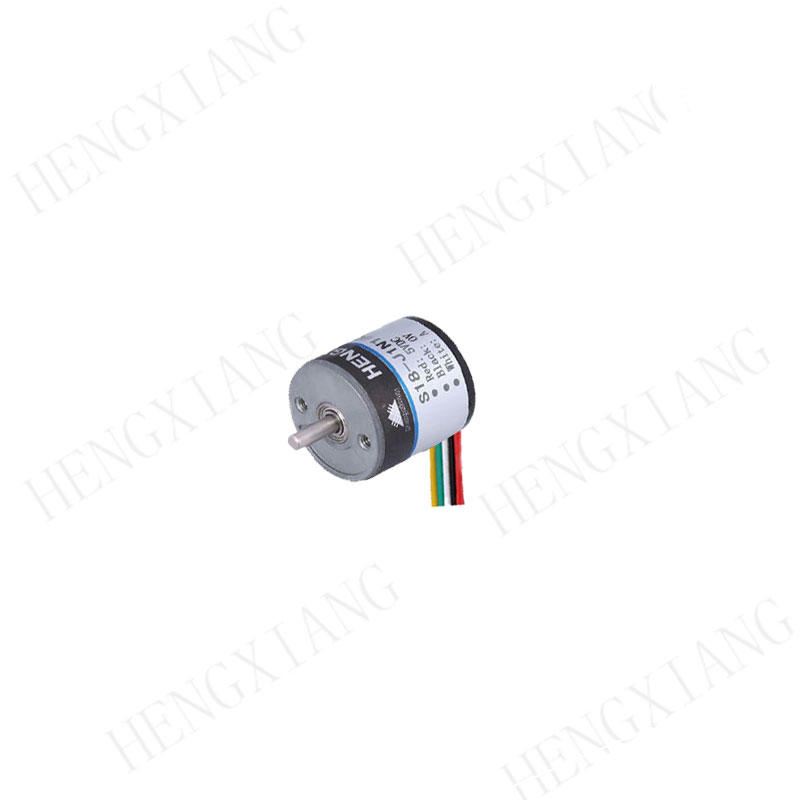 S18 rotary encoder 2.5mm Solid shaft encoder stainless steel material used in micro robot potentiometer encoder