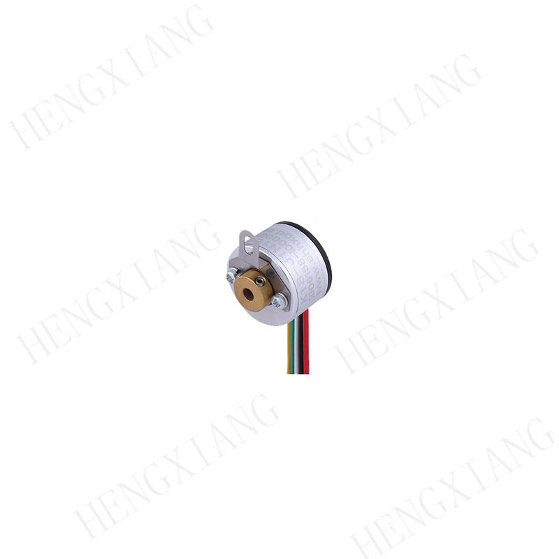 K18 rotary encoder A+B+Z+ NPN open collector output for printing machine Mini size hollow shaft encoder max 1600 resolution