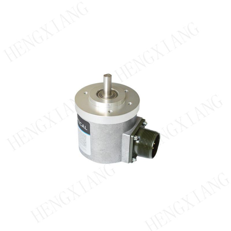 S65 rotary encoder rotation encoder 1000 resolution voltage supply 8-24V 8mm solid shaft  EH63E1000S8/24L8S3MR equivalent encoder