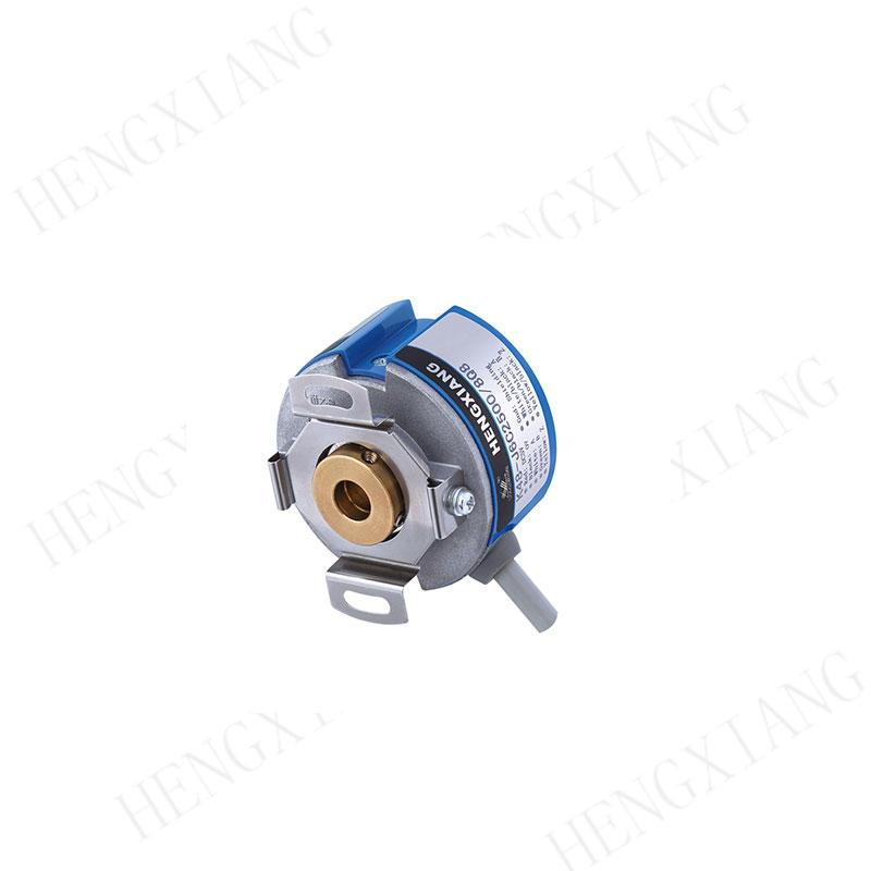 KZ48 rotary encoder incremental encoder price 48mm cone shaft 9mm rotary angle encoder for Filter machine