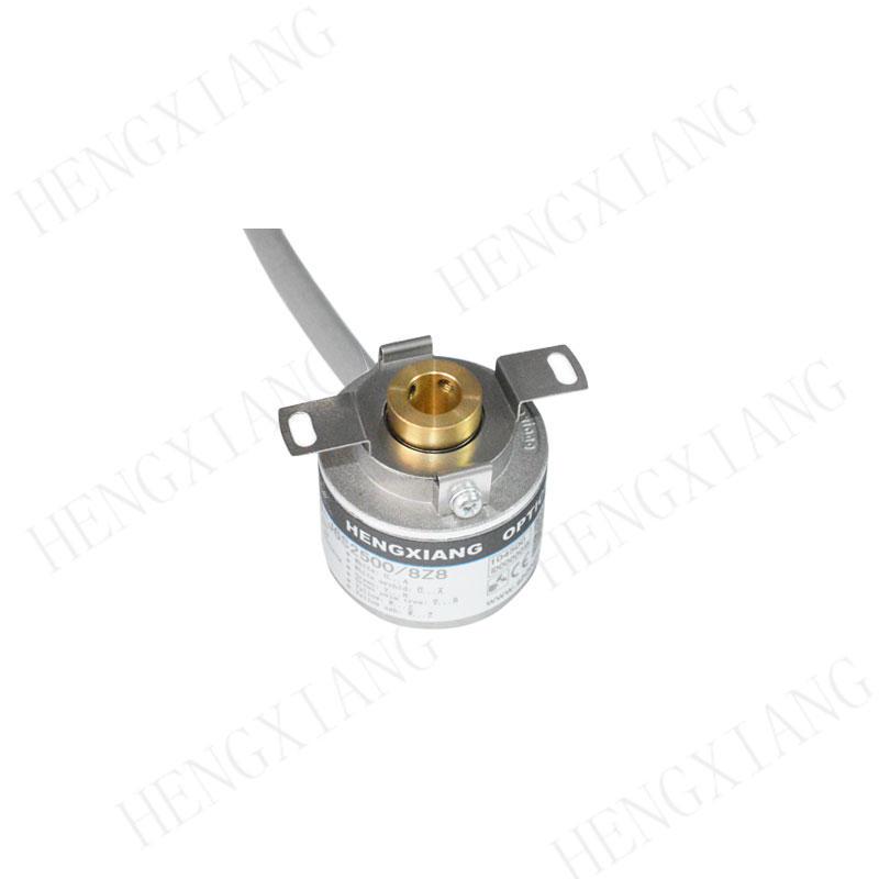 K35 hollow shaft encoder 35mm cheap price encoder 1024-2048ppr UVW for measuring instrument optical enccoder IRH360-1024-016