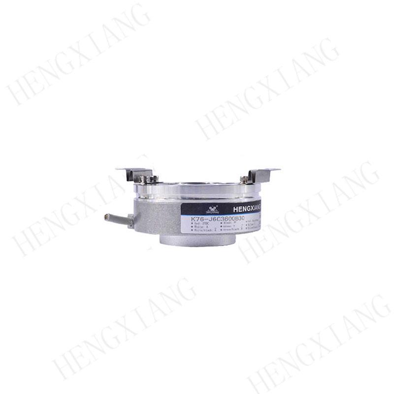K76 incremental encoder Hole diameter 16mm rotary encoder mouting hole 98mm hollow shaft optical encoder 5-30V