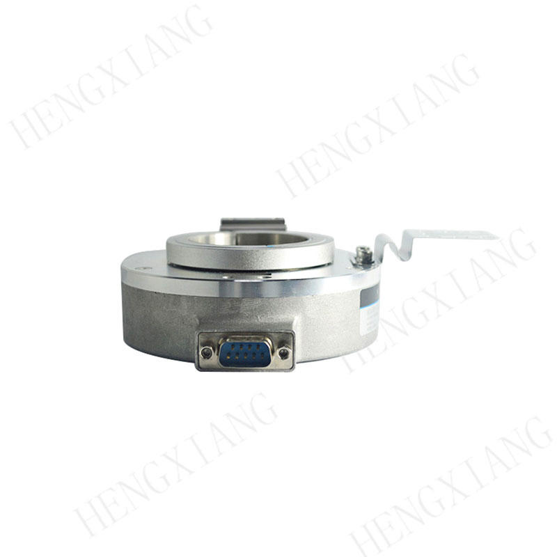 K100 incremental encoder high speed encoder 3000-5000rpm 1000 resolution outer dia 100mm 300kHz open collector circuit 9pin male/female socket