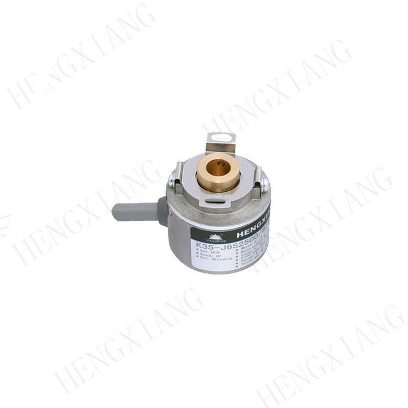 K35 Incremental encoder OIH35 hollow shaft rotary encoder original factory encoder 2500 pulse 8 poles 8mm hole shaft