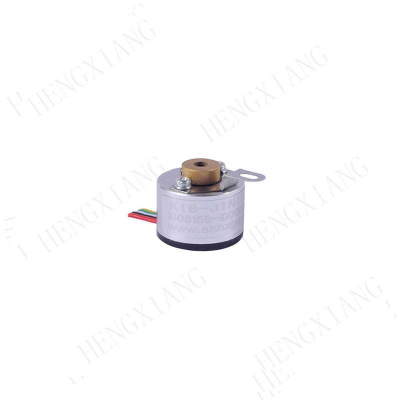 K18 incremental encoder miniature rotary encoder blind hole shaft 2.5mm ABZ NPN output  abz encoder