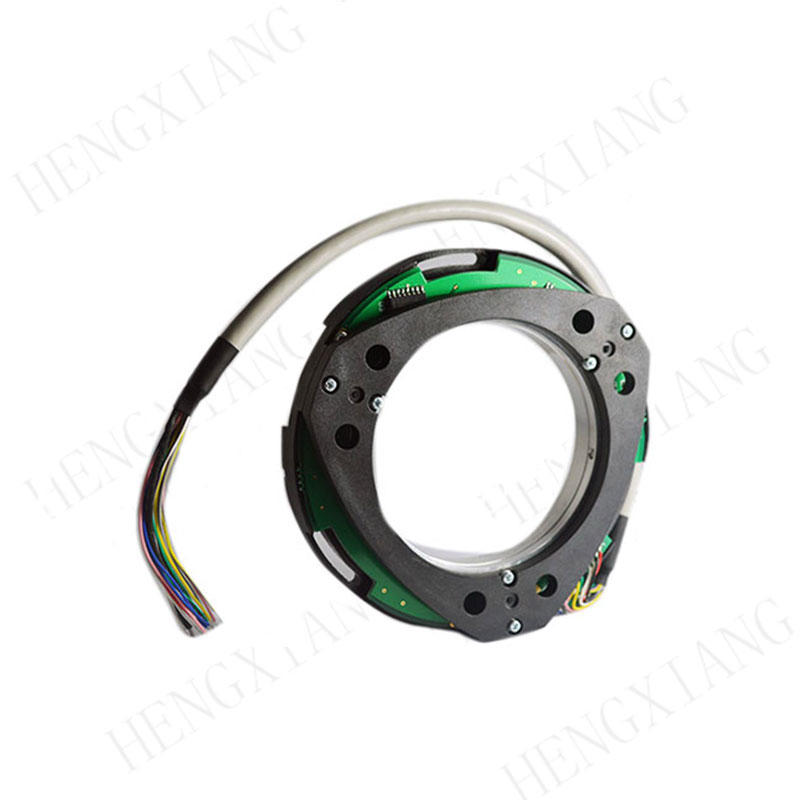 Z100 incremental encoder rotary position encoder CW/CCW square wave output 2500pp to 10000ppr flexible flat cable 14 pin encoder ABZUVW singal