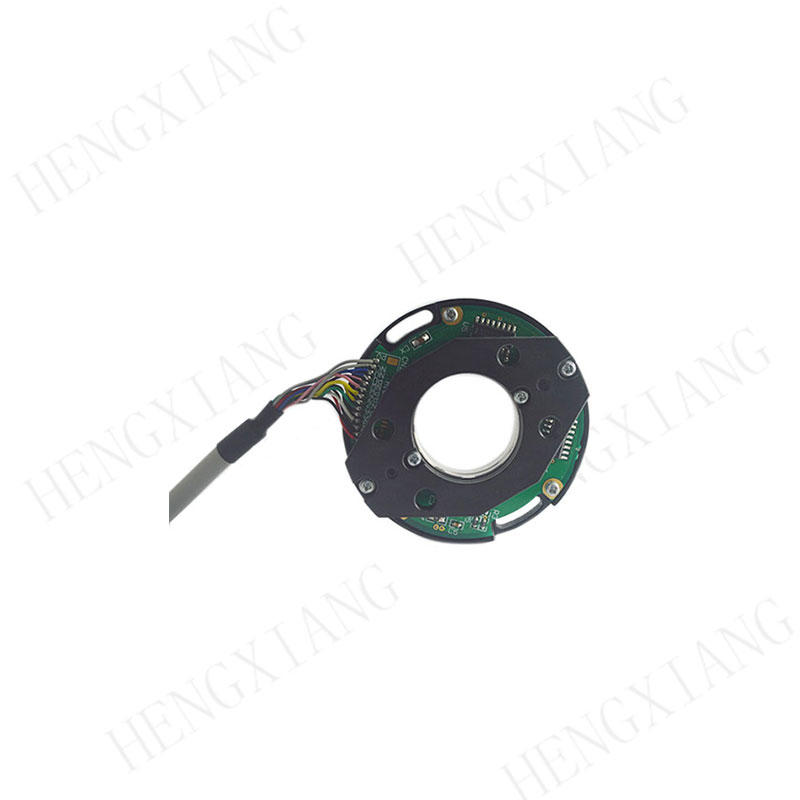 Z58 incremental encoder rotary encoder sensor TTL HTL signal output supply voltage 5-30V through hole shaft max 25mm dimensions can be customized
