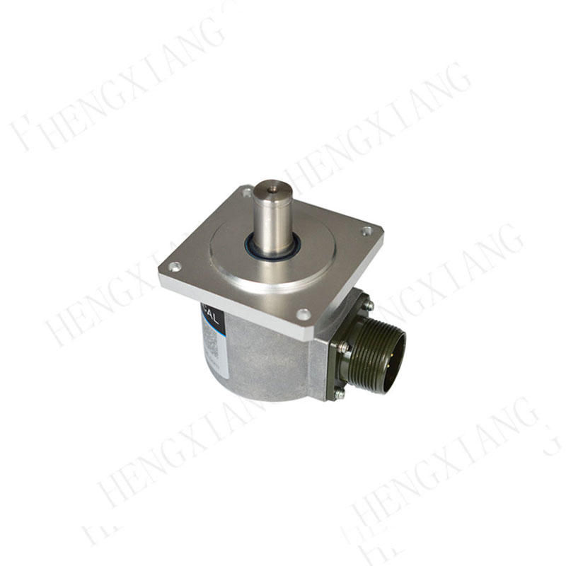 SC65F incremental encoder 68*68mm square flange encoder external diameter 65mm shaft 15mm with 5*5mm slot shaft length 26mm radial socket dc motor encoder