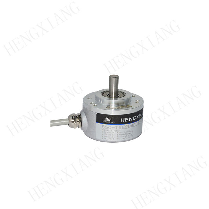 S50 incremental encoder motor speed encoder 6000rpm 1000/1024/1200 resolution solid shaft encoder 8mm D-type shaft angle encoder NOC-S1000-2HC,NOC-S1024-2MD,TRD-J1000-RZ,PRI 50R8 LTP 1000 Z V3