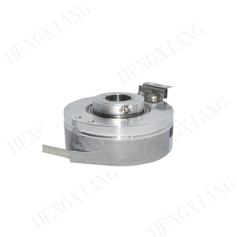 K76 Elevator Encoder dc motor encoder 76mm quadrature rotary encoder 3000/3600/4096/5000 resolution NPN PNP output