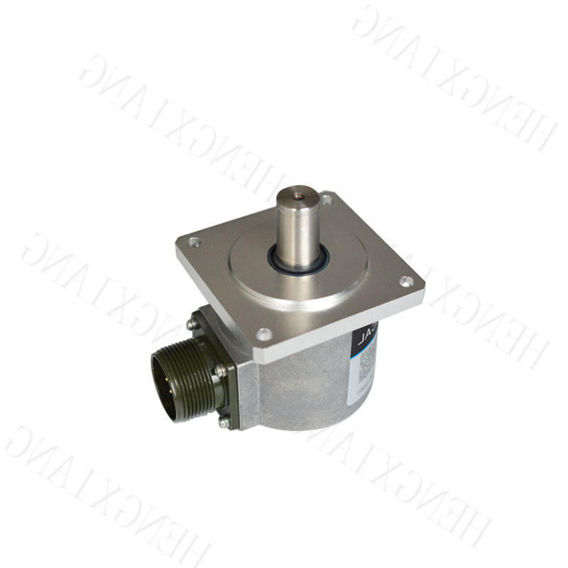 SC65F Solid Shaft Encoder Keyway heavy duty encoder solid shaft 15mm  A+B+Z+A-B-Z- 6 phase line driver output dc8-30v mechanical rotary encoder