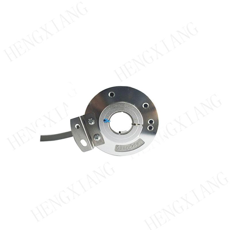 K50 incremental encoder optical position encoder hollow shaft 14mm optical encoder circuit line driver 5VDC 50-23040ppr resolution encoder supplier