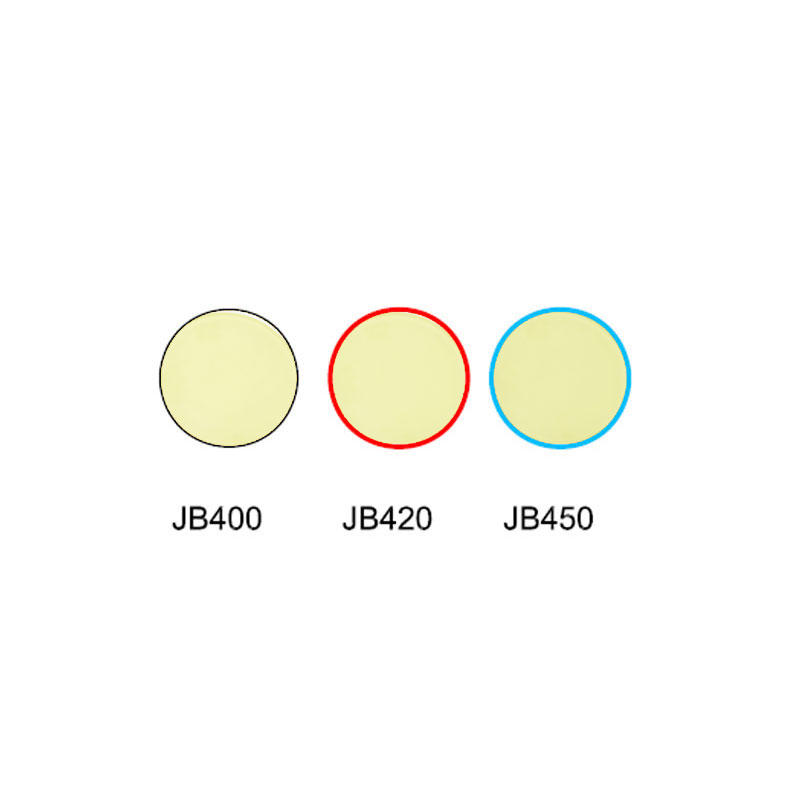 Golden glass yellow glass cut off color filter JB400 JB420 JB450