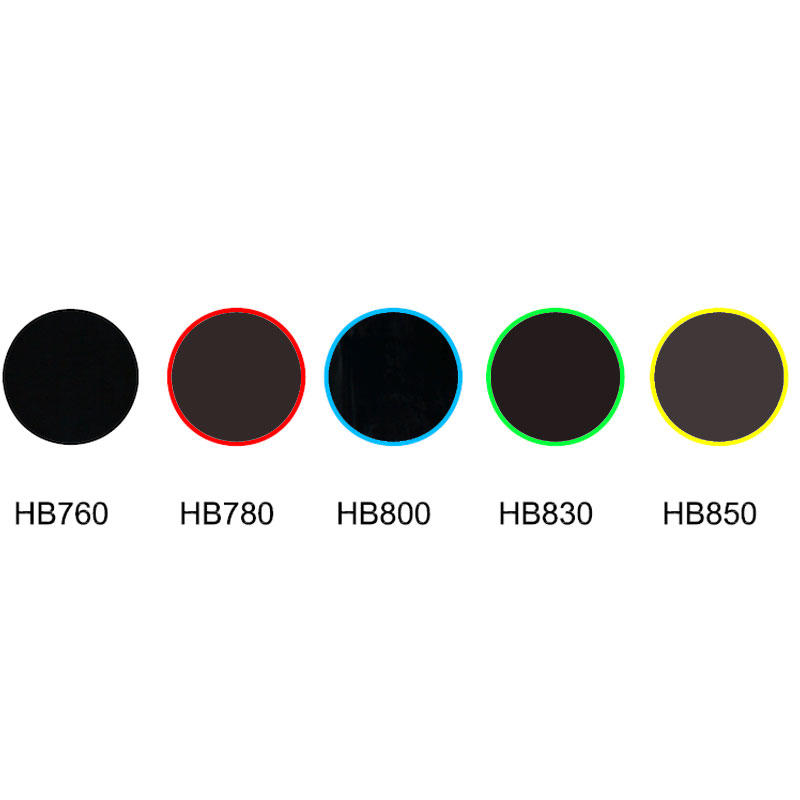 IR transmission visible absorption glass infrared glass HB760 HB780 HB800 HB830 HB580