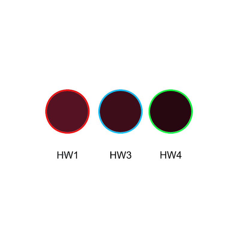IR transmission visible absorption glass optical colored glass filter HW1 HW3 HW4