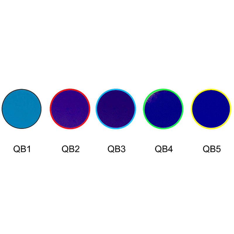 Blue glass absorption optical colored filters QB1 QB2 QB3 QB4 QB5