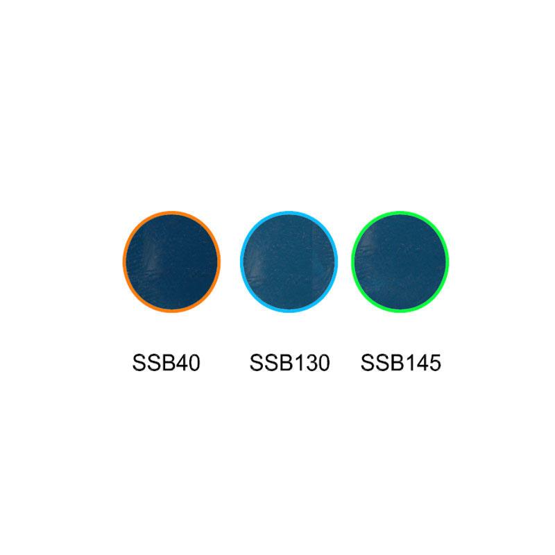 Rising color temperature glass selective absorption glass SSB40 SSB130 SSB145