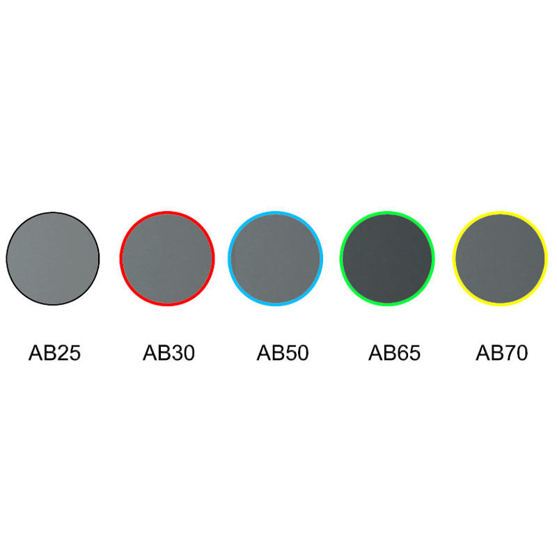 neutral grey glass optical color filter AB25 AB30 AB50 AB65 AB70