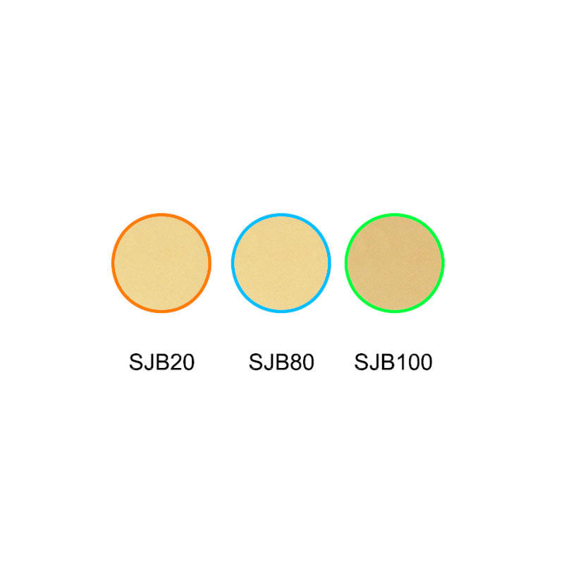 Falling color temperature glass selective absorption type color glass filter SJB20 SJB80 SJB100