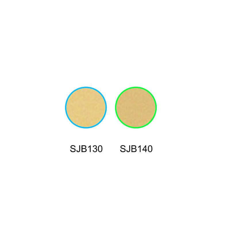 Falling color temperature glass optical color filters SJB130 SJB140
