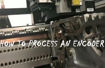 The whole production process of how to manufacture an encoder