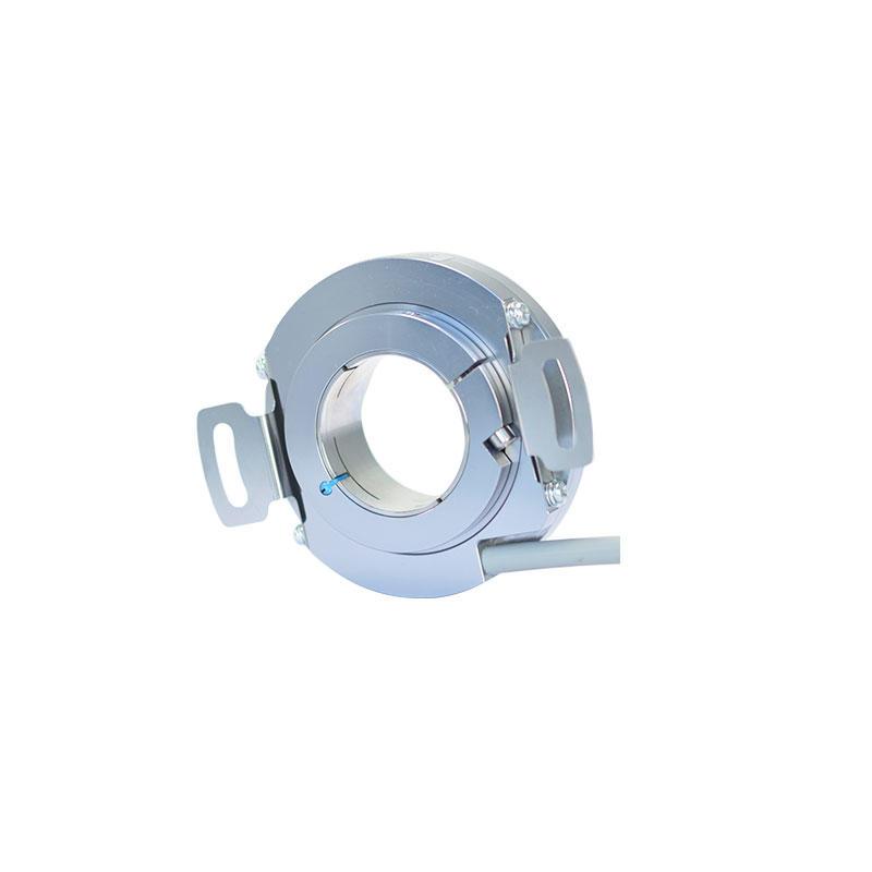 K66 Hollow Shaft encoder with 30mm through hole shaft  Incremental encoder Max 10000 pulse