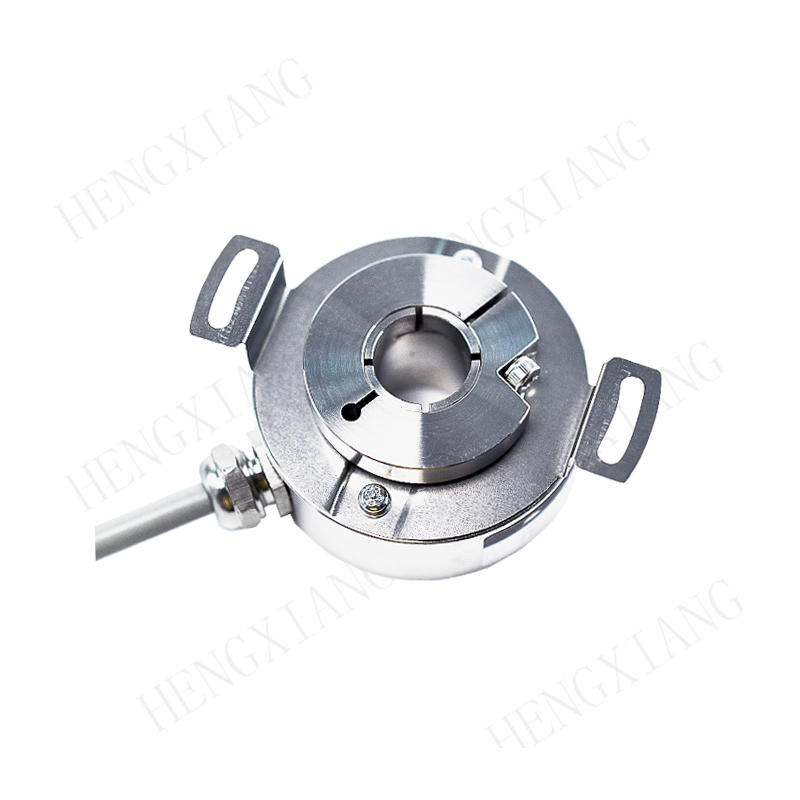 IP67 stainless steel heavy duty hollow-shaft PGK50 rotary encoder for high speed and tough environments