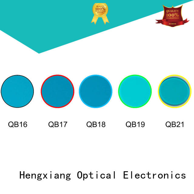 HENGXIANG real colored lens filters supplier for medical