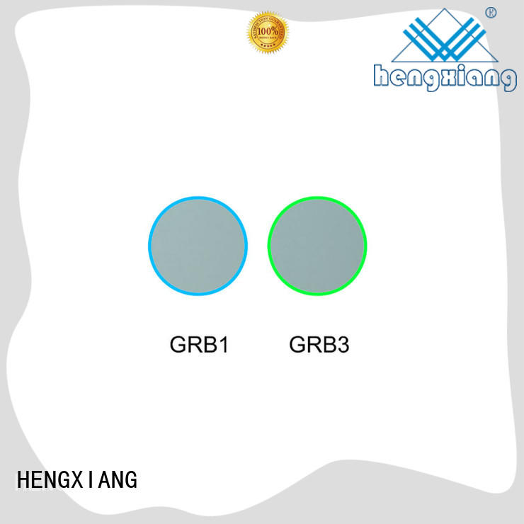 HENGXIANG glass color filters manufacturer for cameras