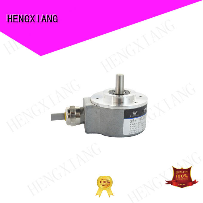 HENGXIANG solid shaft encoder factory direct supply for mechanical systems