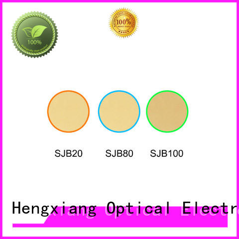 HENGXIANG hot selling colored lens filters supplier for optical instruments