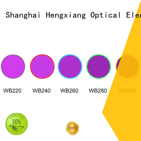 HENGXIANG optical colored glass filters manufacturer for cameras